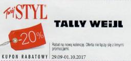 Code réduction Tally Weijl
