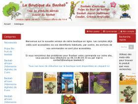 Code réduction Boutique Baobab