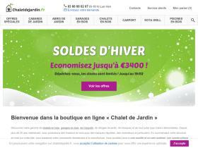 Code réduction Chalet De Jardin