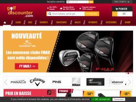 Code promo Golf discounter