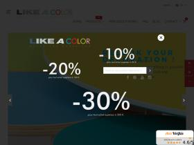 Code promo Likeacolor