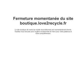 Code promo Love2Recycle